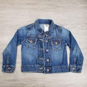 Oshkosh denim jacket 5T